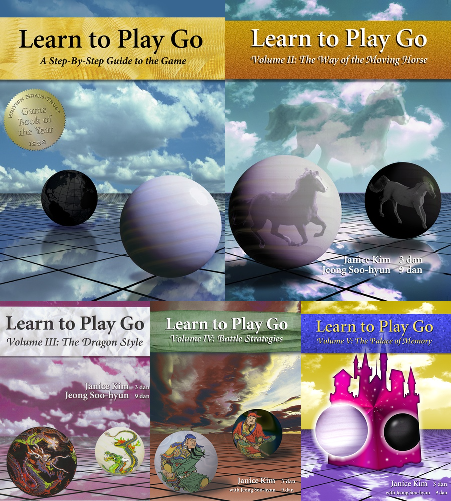 Learn to play go series covers